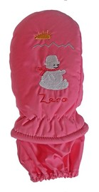 Mountain Wear: Pink Zero Kids Mittens (Large)