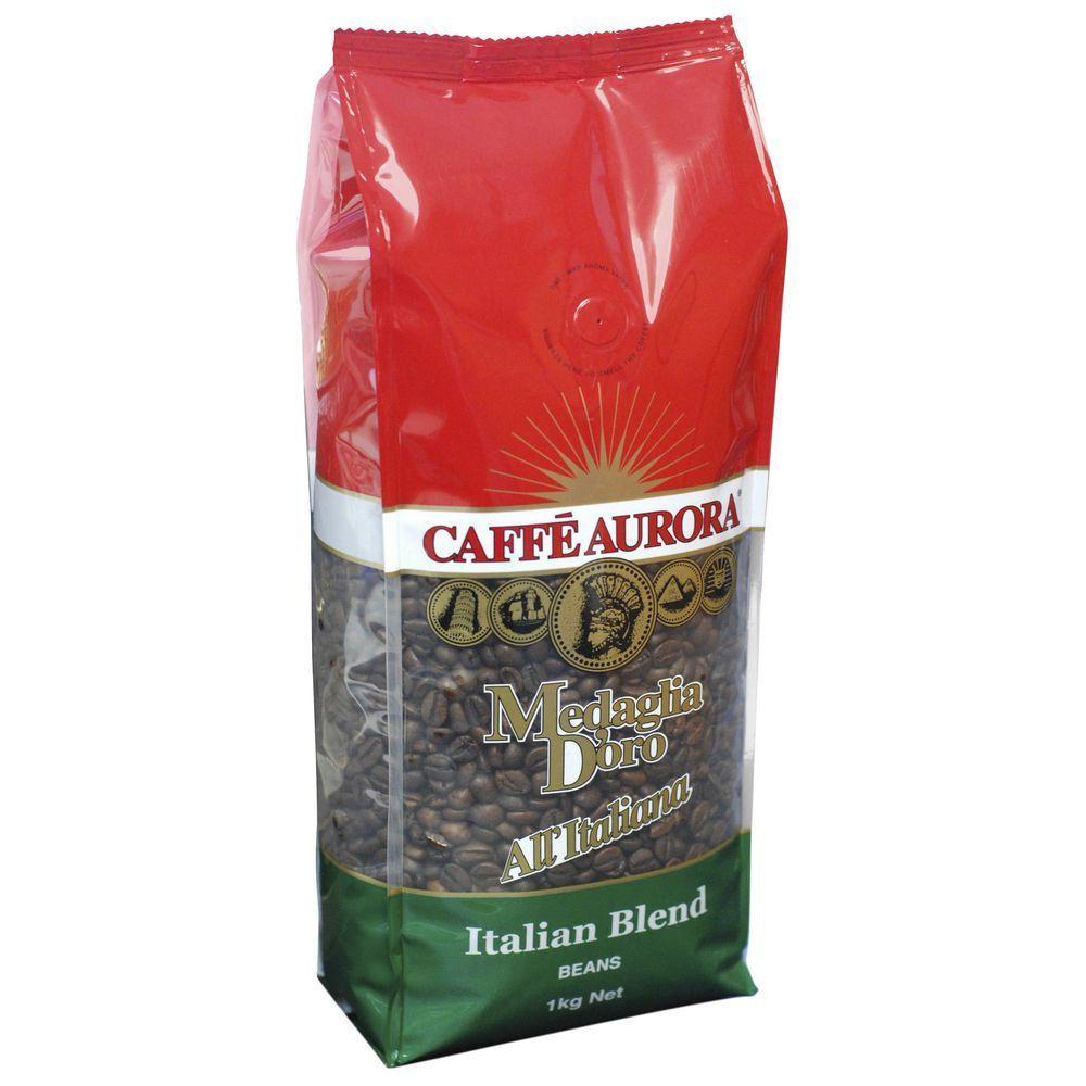 Caffe Aurora Italian Blend Beans (1kg) image