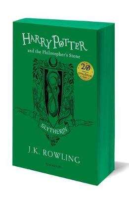 Harry Potter and the Philosopher's Stone - Slytherin Edition by J.K. Rowling