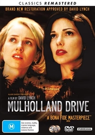 Mulholland Drive on DVD