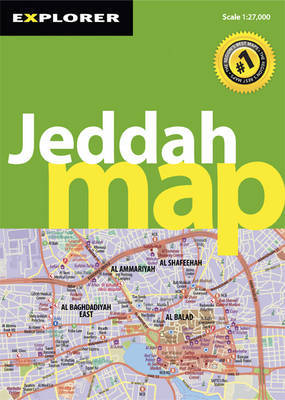 Jeddah Map by Explorer Publishing and Distribution