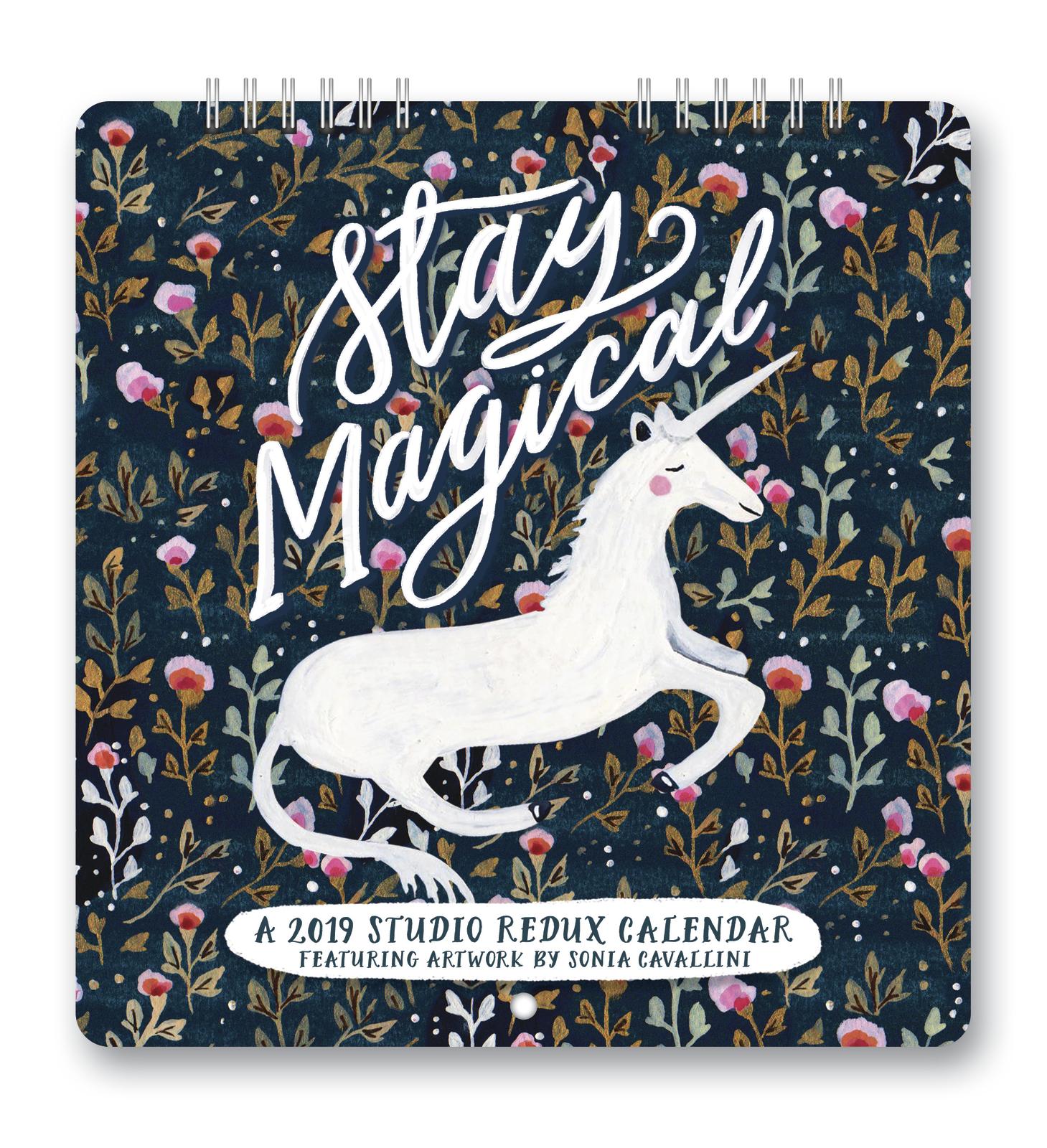 Studio Redux: Stay Magical 2019 Mini Wall Calendar image