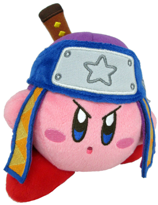 Kirby Plush Kirby Ninja Version 2 6""