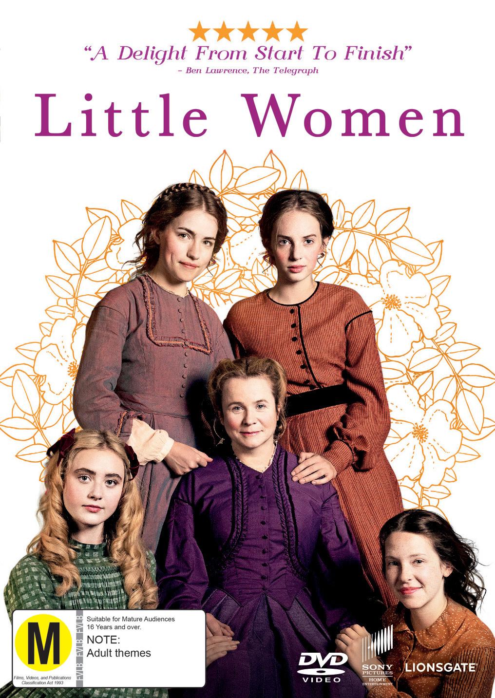 Little Women on DVD image