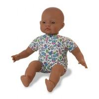 Miniland: Soft Bodied Doll - Latin American (40cm)