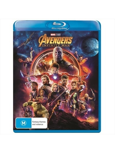 Avengers: Infinity War on Blu-ray