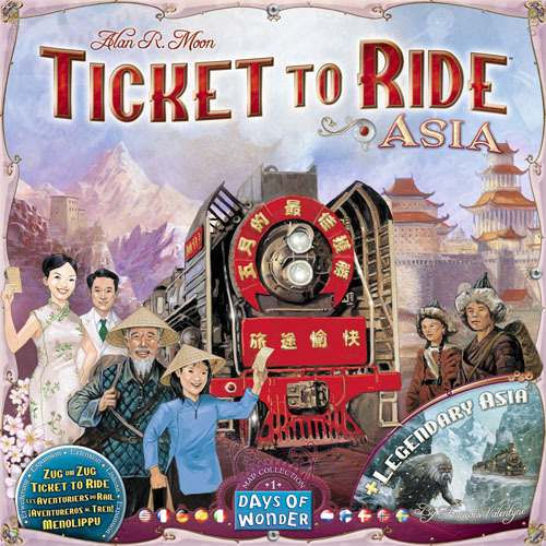 Ticket To Ride: Asia Expansion image