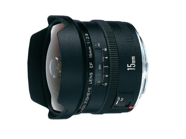 Canon Ultra-Wide and Wide Lens EF 15mm/F2.8 Fisheye