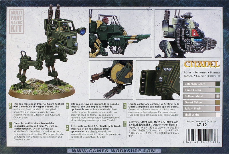 Warhammer 40,000 Imperial Guard Sentinel image