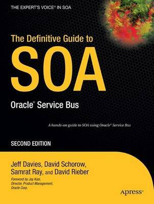 The Definitive Guide to SOA by David Schorow image