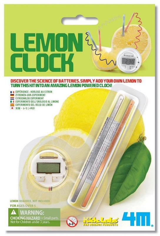 4M: Science Lemon Clock