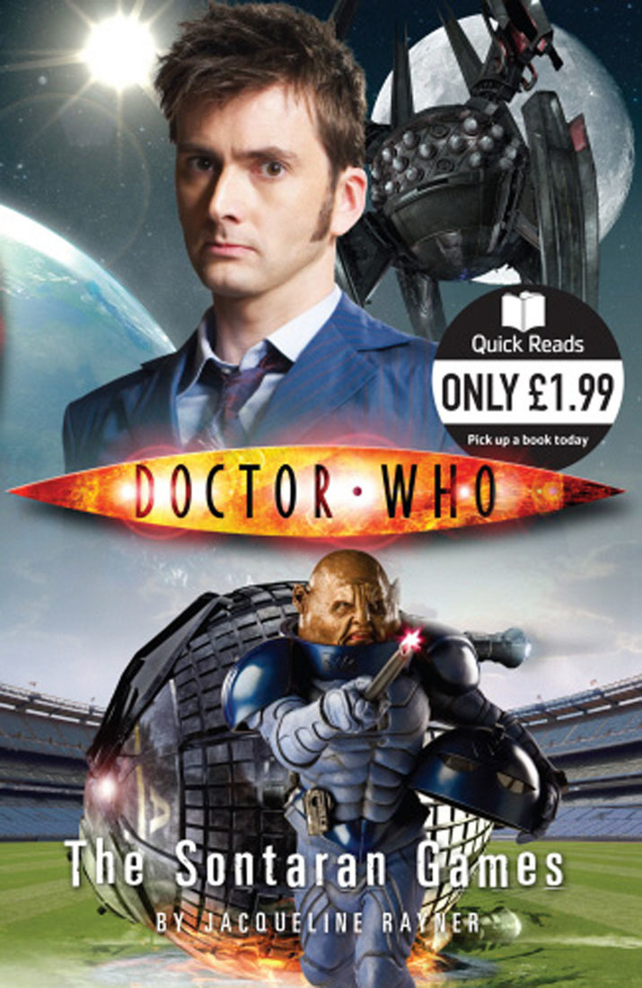 """""""Doctor Who"""": The Sontaran Games (Quick Reads) by Jacqueline Rayner image"""