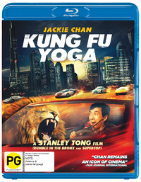 Kung Fu Yoga on Blu-ray