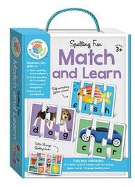 Building Blocks: Match and Learn Spelling Cards