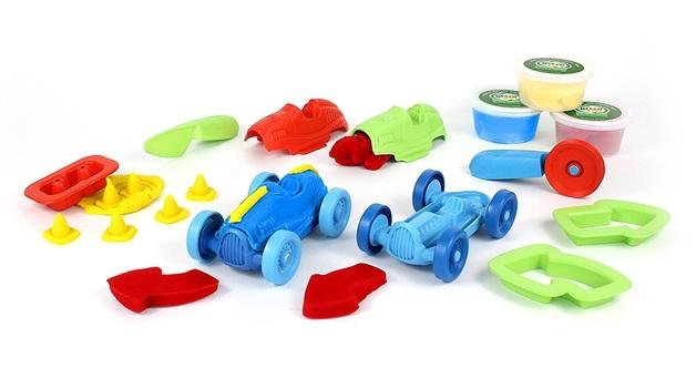 Green Toys: Race Car Maker - Dough Activity Set