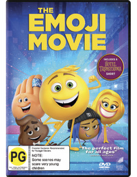 The Emoji Movie on DVD