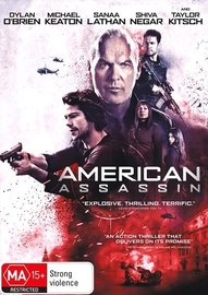American Assassin on DVD image