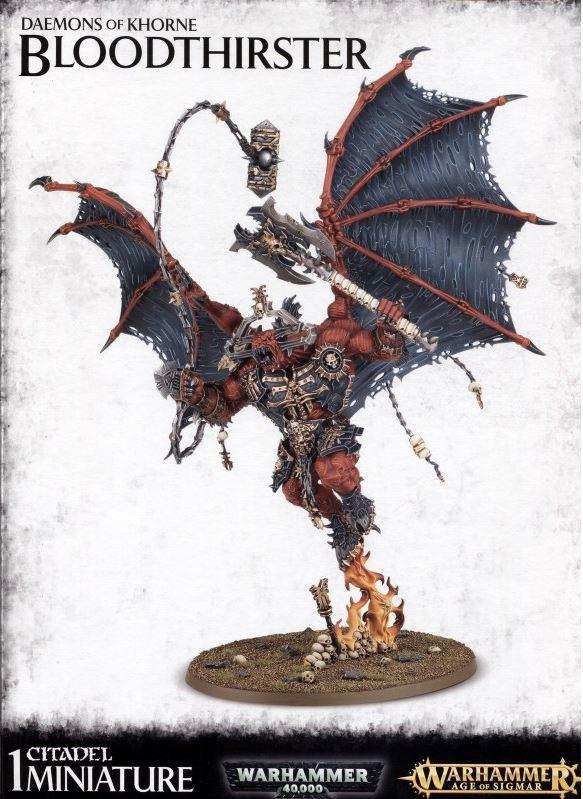 Warhammer Daemons Of Khorne Bloodthirster image