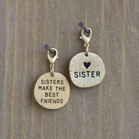Natural Life: Junk Market Sentiment Charm - Sisters