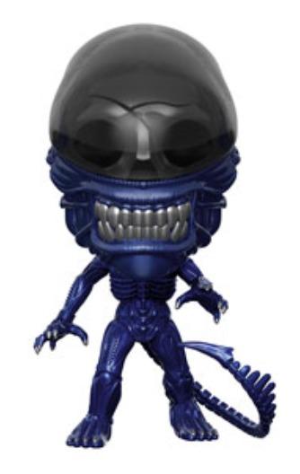 Alien: Xenomorph (Blue Metallic) - Pop! Vinyl Figure