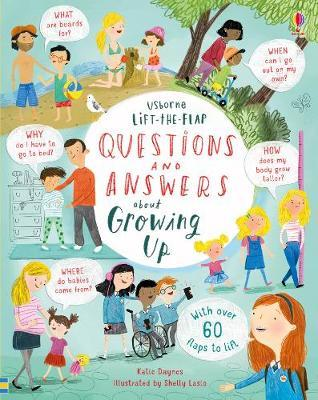 Lift-the-Flap Questions & Answers about Growing Up by Katie Daynes image