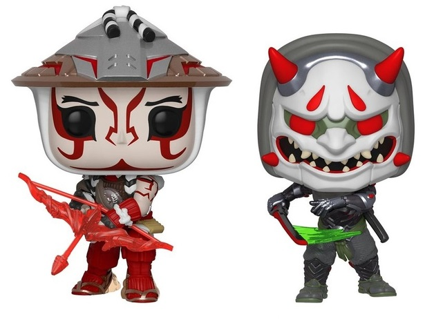 Overwatch - Hanzo & Genji Pop! Vinyl 2-Pack