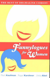 Funnylogues for Women: The Best of Dramaline Comedy by Mort Kaufman image