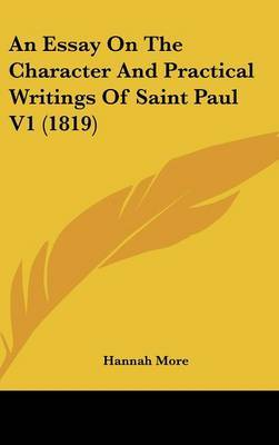 An Essay on the Character and Practical Writings of Saint Paul V1 (1819) by Hannah More image