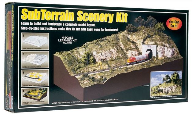 Woodland Scenics Subterrain Scenery kit N Scale | at Mighty