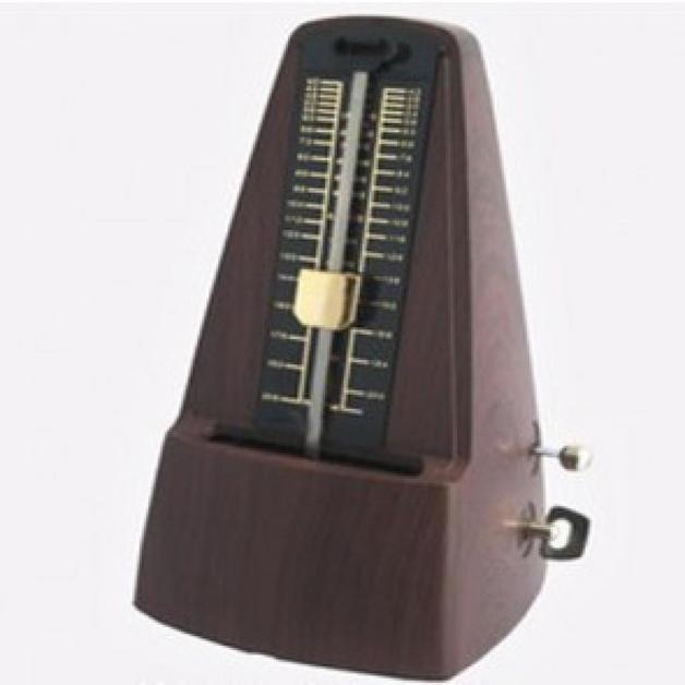 Best Music BM350 Mechanical Metronome Teak - Clear