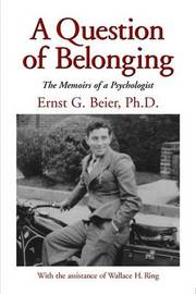 A Question of Belonging by Ernst G. Beier image