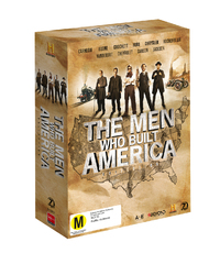 The Men Who Built America Collection on DVD