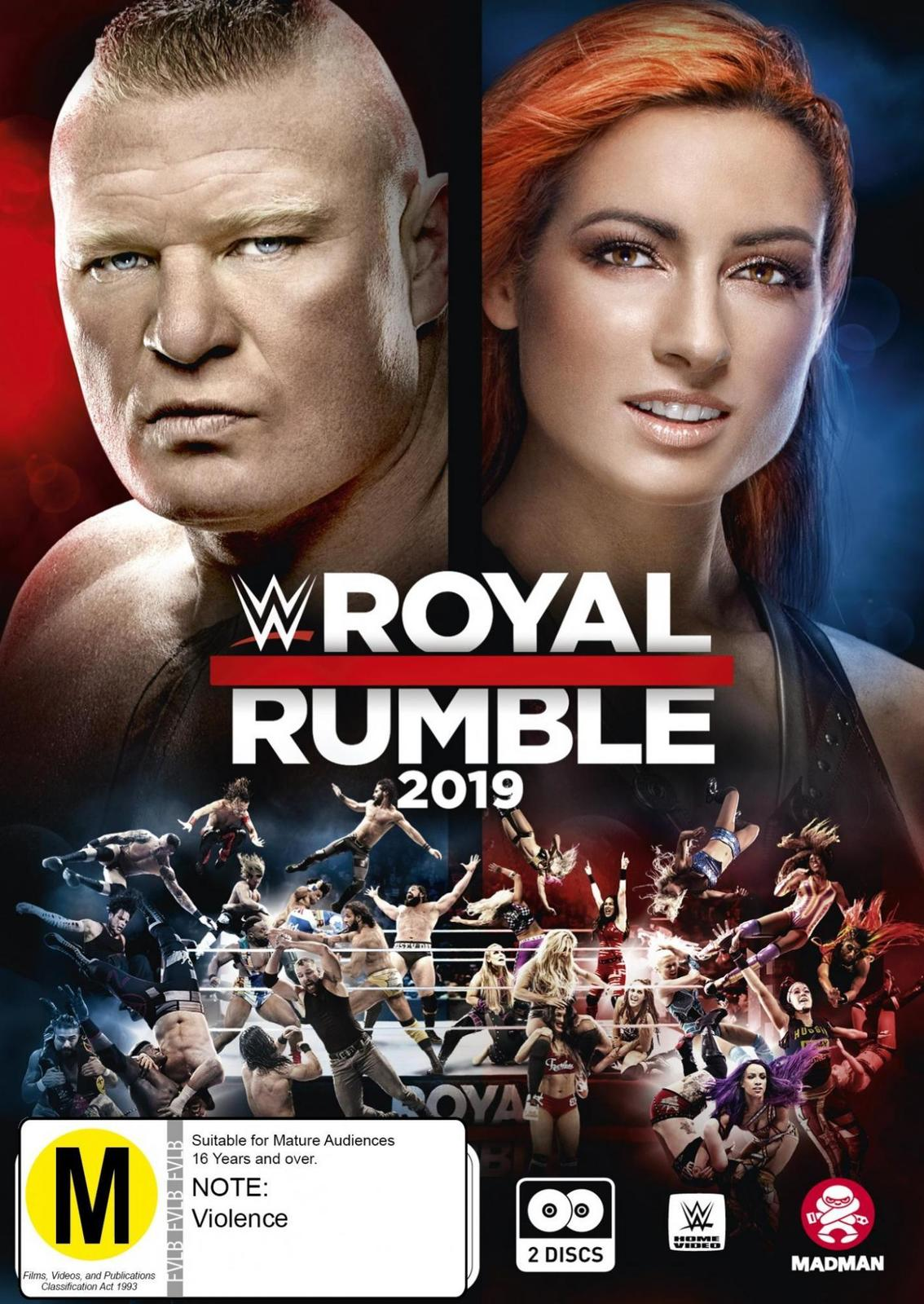 WWE: Royal Rumble 2019 on DVD image