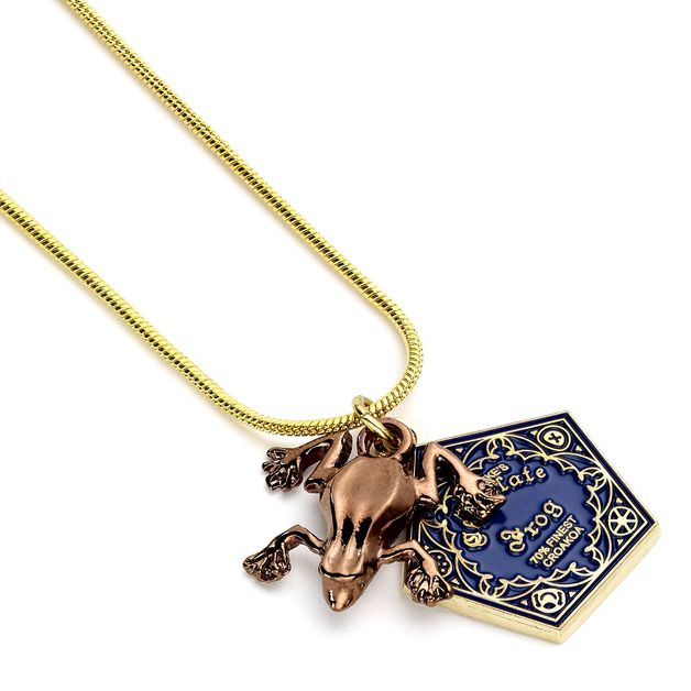 The Carat Shop: Harry Potter Chocolate Frog Necklace