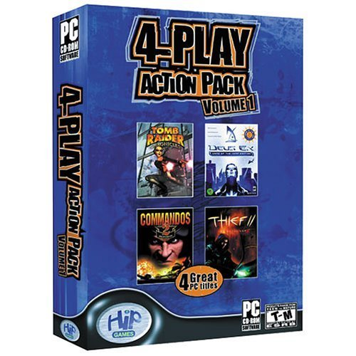 4-Play Action Pack Volume 1 for PC Games