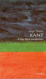 Kant: A Very Short Introduction by Roger Scruton image
