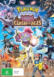 Pokemon Movie 18: Hoopa and the Clash of Ages on DVD