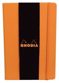 Rhodia Webnotebook A5 Dot Grid (Orange) image