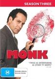 Monk - Season 3 on DVD