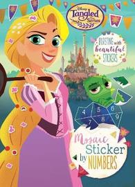 Disney Tangled The Series Mosaic Sticker by Numbers by Parragon Books Ltd image