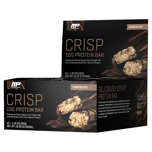 MusclePharm Combat Crisp Bar - Chocolate (Box of 12)