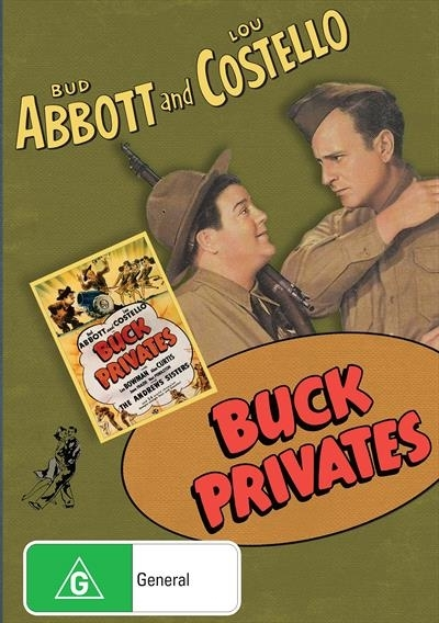 Abbott And Costello: Buck Privates on DVD