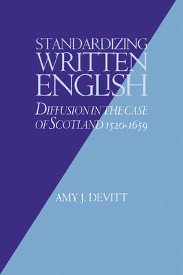 Standardizing Written English by Amy J. Devitt image