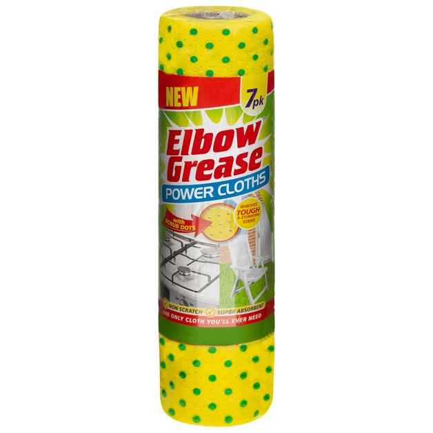 Elbow Grease: Power Cloths (7pk)