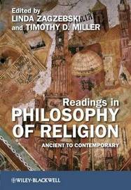 Readings in Philosophy of Religion image
