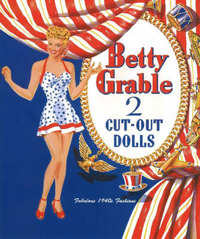Betty Grable Paper Dolls by Jenny Taliadoros image