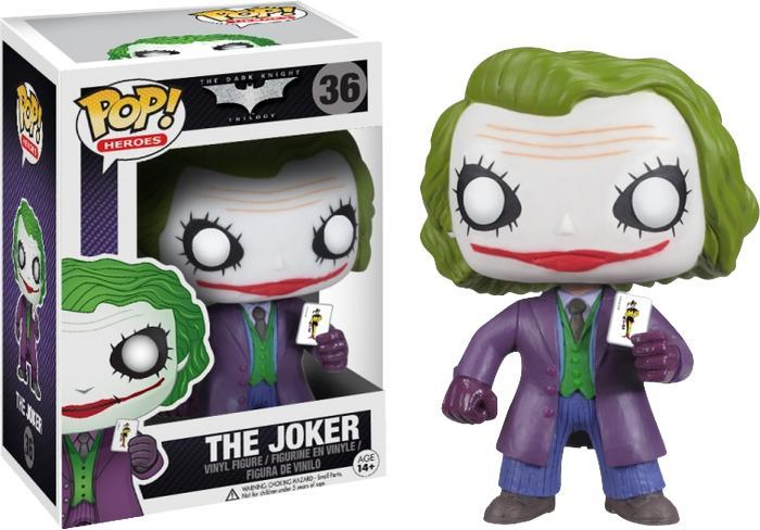 Batman Dark Knight The Joker Pop! Vinyl Figure image
