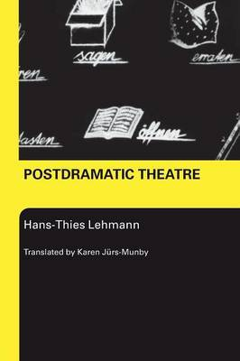 Postdramatic Theatre by Hans-Thies Lehmann image