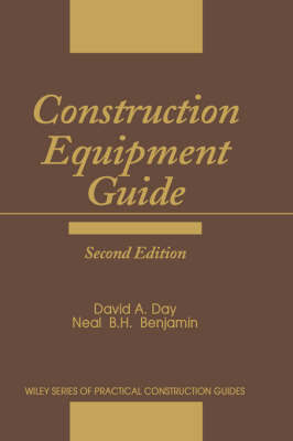 Construction Equipment Guide by David A Day