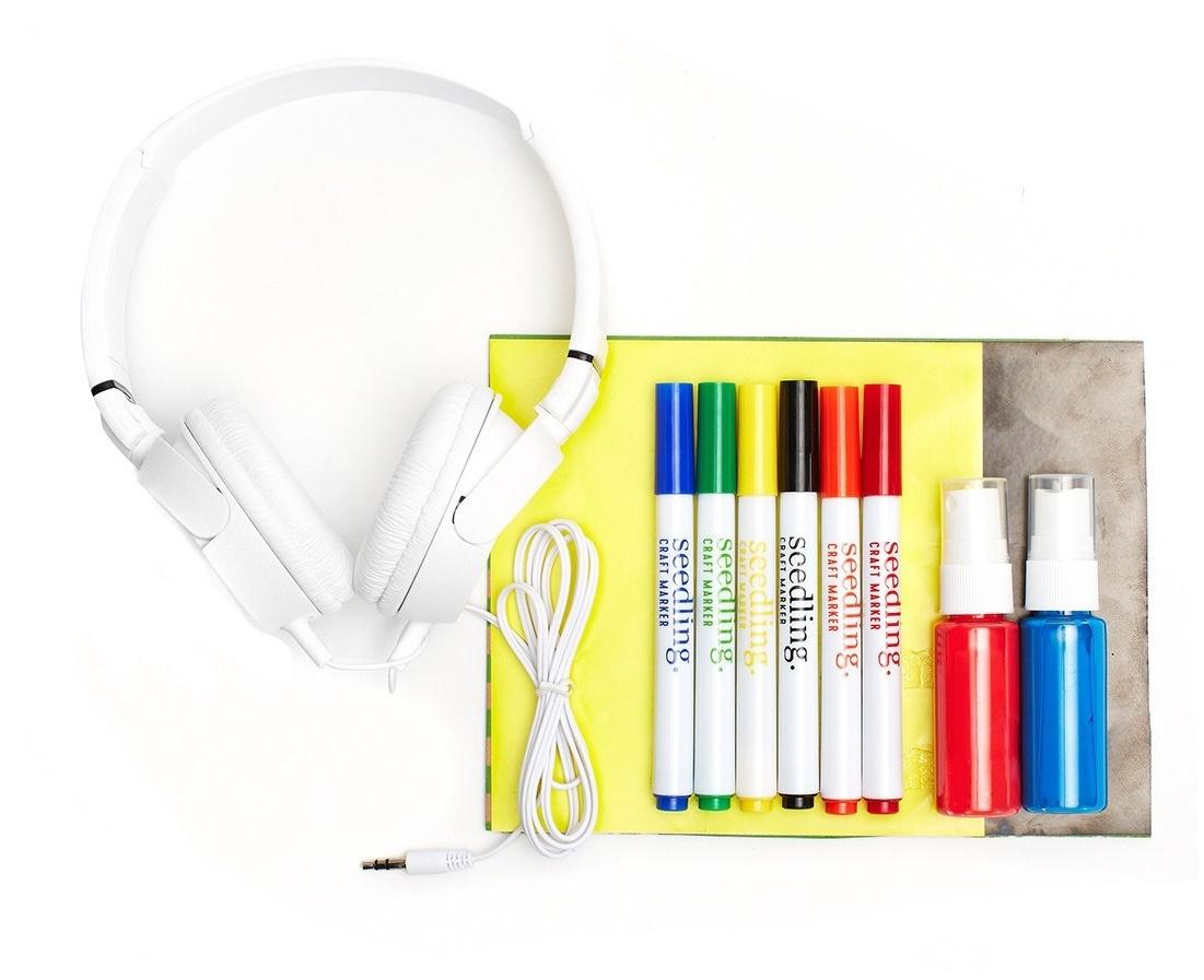 Seedling: Design your own Headphones - Street Art image
